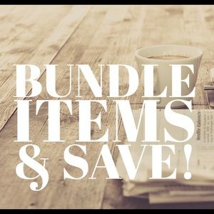 Bundle 2 or more items for a great offer